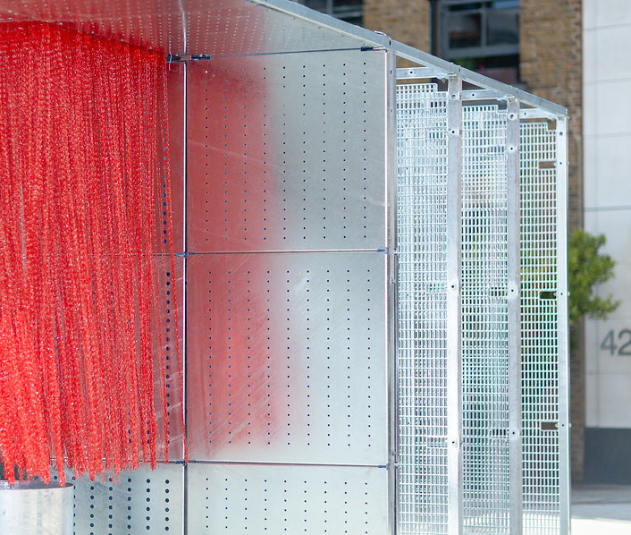 wr-ap be well pavilion detail clerkenwell design week 2019