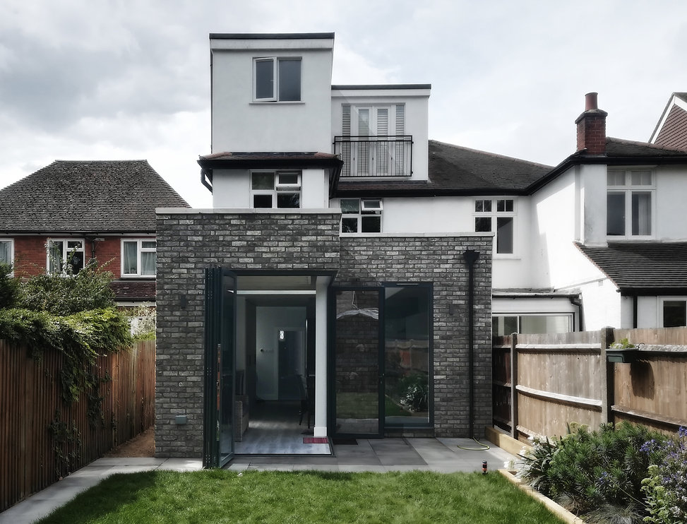 completed extension surbiton wr-ap architects