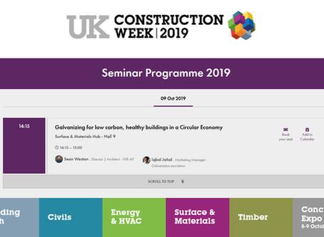 WR-AP talking at Construction Week 2019