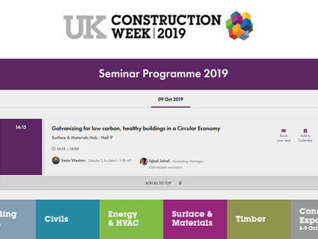 WR-AP talking at Construction Week 2019