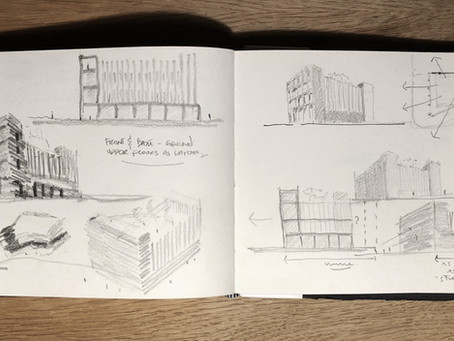 Drawing - The Architect's (not so) secret weapon
