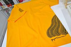 草間彌生_ Tシャツ 南瓜__#草間彌生 #YayoiKusama_#Satellite_#art #artbook #artshop #artgallery_#現代アート #ギャラリー #Tシャツ_