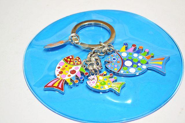 KEY RING FISH__#草間彌生 #YayoiKusama_#Satellite_#art #artbook #artshop #artgallery_#現代アート #ギャラリー_#
