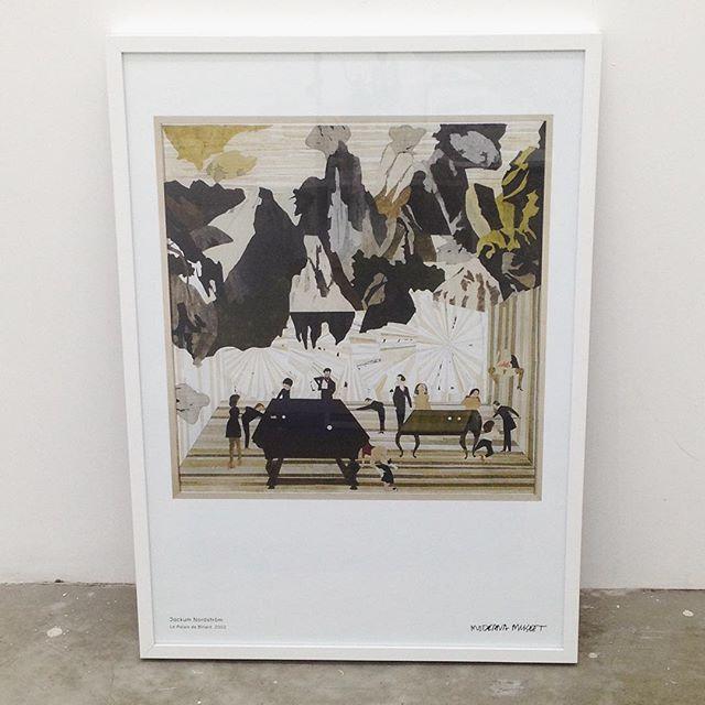 Jockum Nordstrom_ Le Palais de Billard, 2002 ポスター__#JockumNordstrom_#Satellite_#art #artbook #artsho