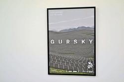 Andreas Gursky_ NOT ABSTRACT展 ポスター(フレーム入り)__#AndreasGursky_#Satellite_#art #artbook #artshop #artgal