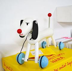 奈良美智: Nara wooden toy My Sweet Dog