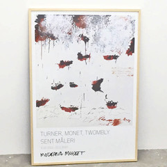 Cy Twombly: Petals of Fire (1989) ポスター