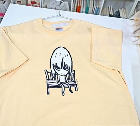 奈良美智 Bench Tシャツ ナチュラル