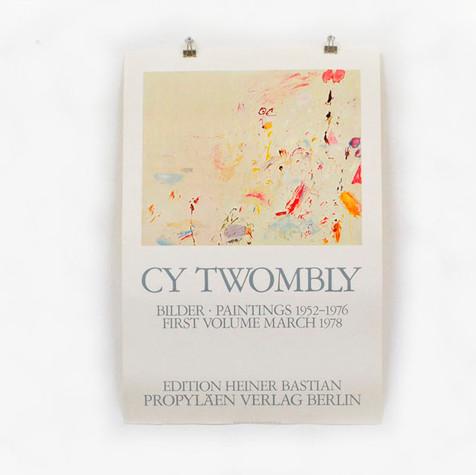 Cy Twombly: Propyläen-Verlag, 1978 ポスター