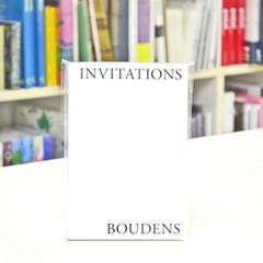 Paul Boudens: INVITATIONS