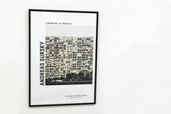 Andreas Gursky_ Paris, Montparnasse (Detail), 1993 ポスター(フレーム入り)__#AndreasGursky_#Satellite_#art #art