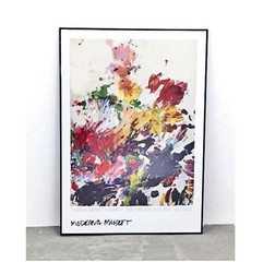 Cy Twombly: Untitled (1990) ポスター