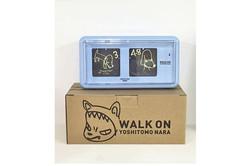 奈良美智_ Nara clock WALK ON mini(blue)__#奈良美智 #YoshitomoNara_#Satellite_#art #artbook #artshop #artgall