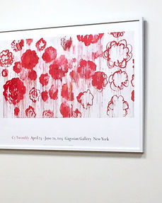 Cy Twombly: ポスター