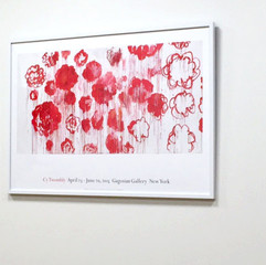 Cy Twombly: Blooming, 2001–08 ポスター