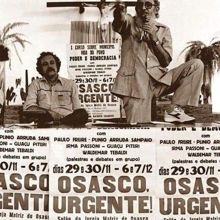 Epístolas paulinas: corresponder a Paulo Freire