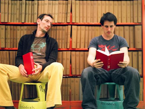 O duo The Books na tradução de Mariano Marovatto