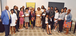 2017 Empowering Future Leaders winners w