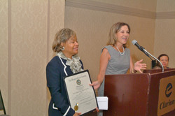 PGCDPC Receives Proclamation from MD Gen