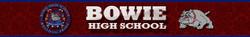 Bowie High School Banner