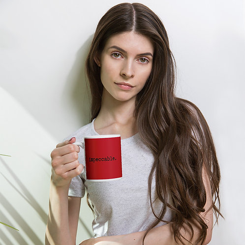 impeccable 1.0 mug - red