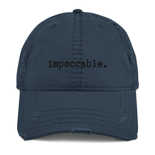 impeccable 1.0 Distressed Dad Hat