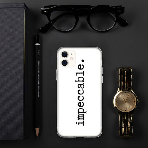iPhone Case - impeccable 1.0