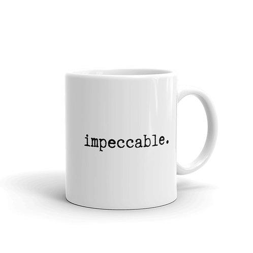 impeccable mug - white