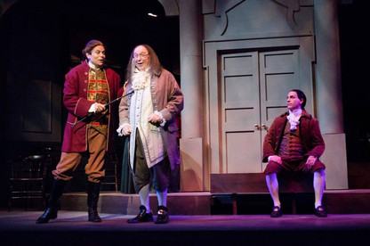 With Rob Langeder as Lee and Whit Reichert as Franklin