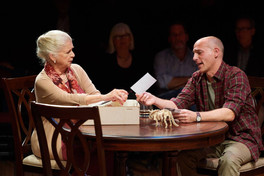 Me as Cal Porter, with Darrie Lawrence as Katharine Gerard.