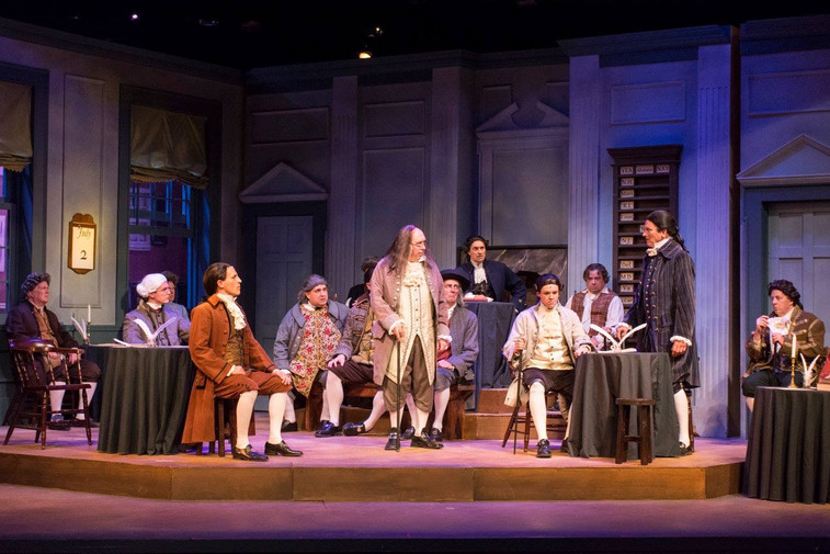 The cast of 1776