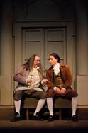 With Whit Reichert as Ben Franklin