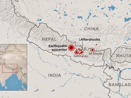On the Way to Kathmandu, Nepal