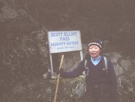 Day Six: A Long Descent via Elliot Pass