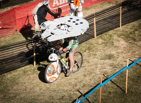 Not so long ago in a cyclocross race not so far away….