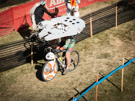 Not so long ago in a cyclocross race not so far away….