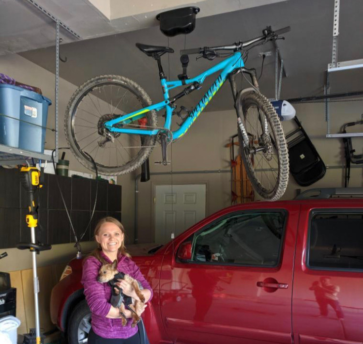 Kradl bicycle storage, bike rack, bike mount.