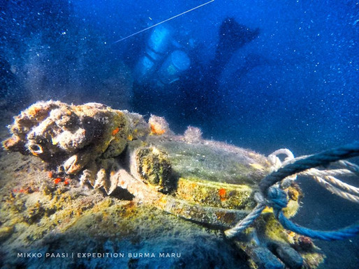 Expedition Burma Maru-revealing long lost mystery