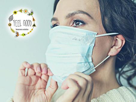Problemi di pelle in tempo di pandemia??  Pelle secca, irritata o brufoli?