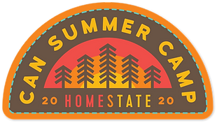 HOMEState Logo half circle with trees