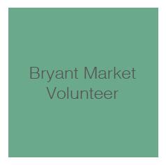 Bryant Market Volunteer