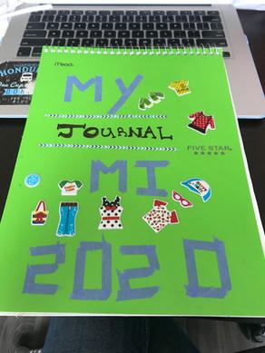 Bullet journal cover