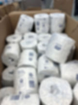 Box of toilet paper