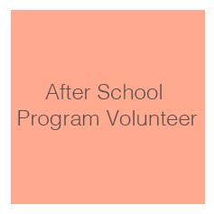 After School Program Volunteer