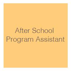 After School Program Assistant