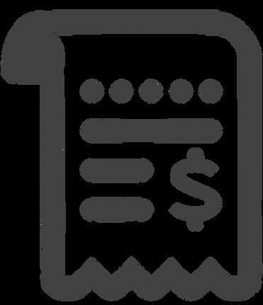 Receipt Tracking Spreadsheet