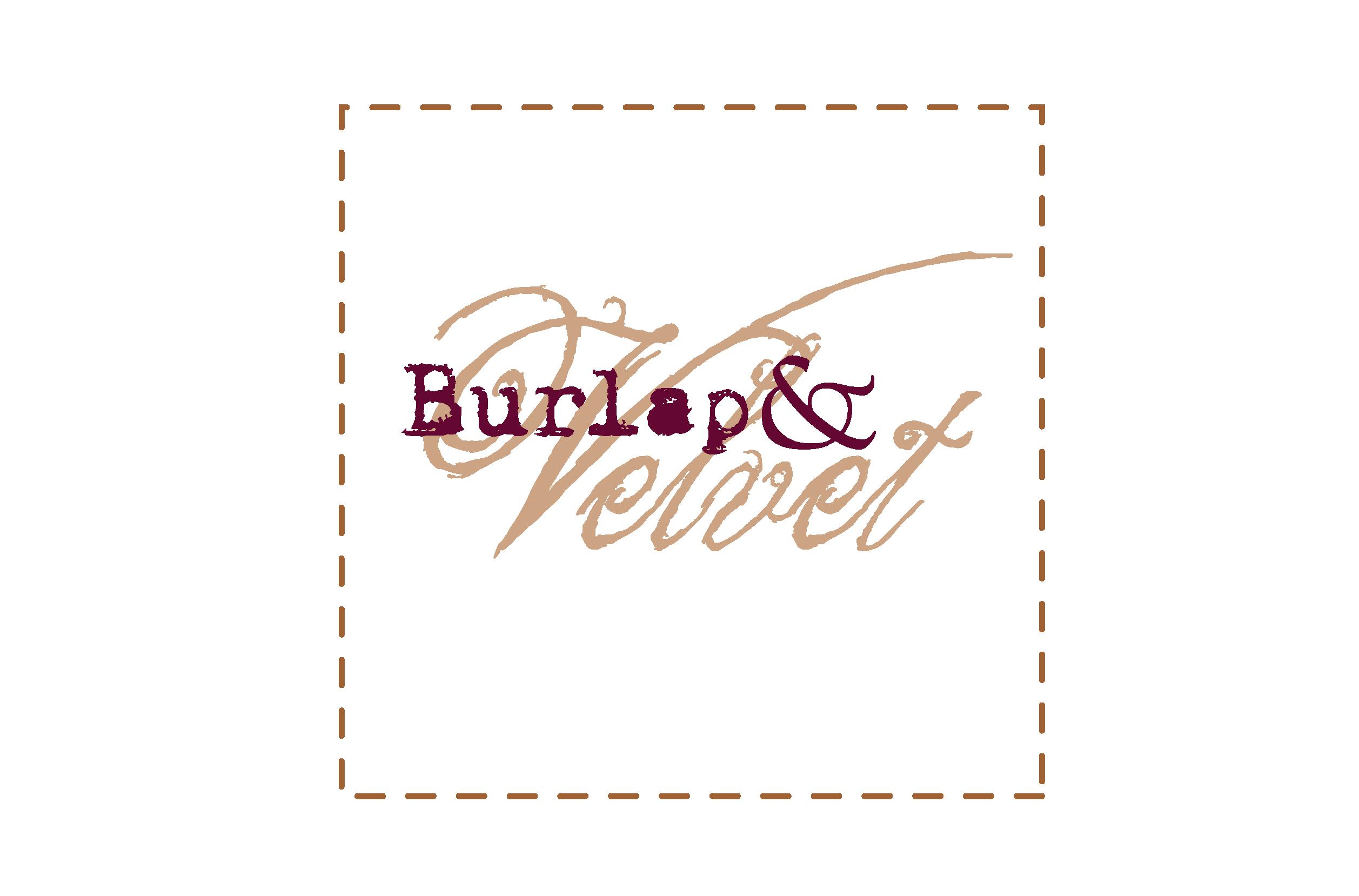 Burlap & Velvet