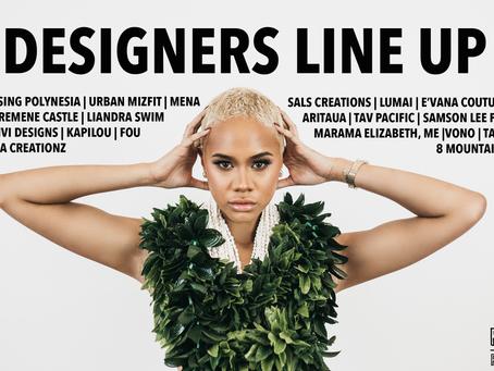 2019 Designers line up