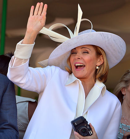 Kim Cattrall at a Melbourne event