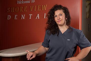 Nade dental assistant at Shoreviewdental